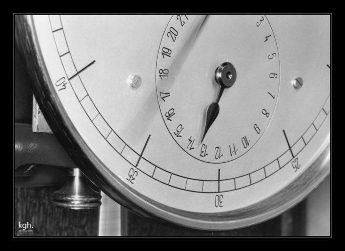 Riefler Clock Face