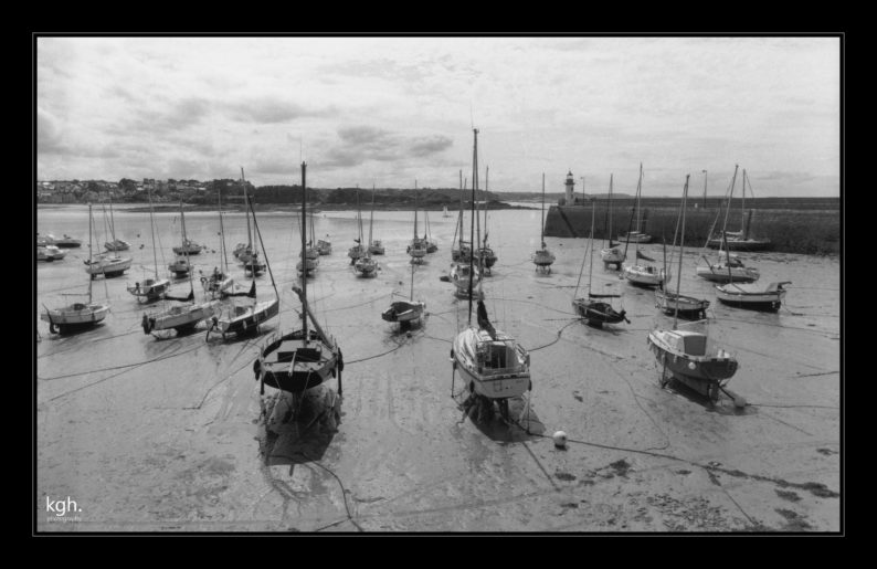 Erquy Harbor