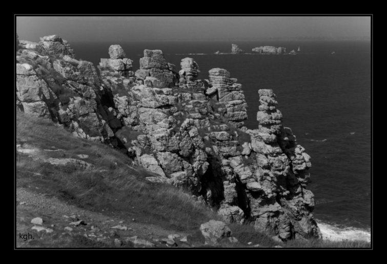 Rocks at Pointe de Pen Hir